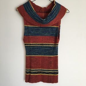 Free People Knit Sleeveless Top Size L